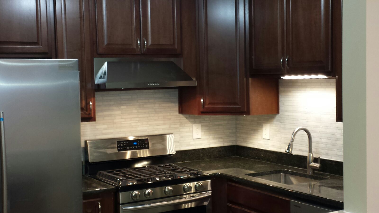 Regardless of being in the business for 25 years, we can still bring a modern look to your kitchen with LED lighting.